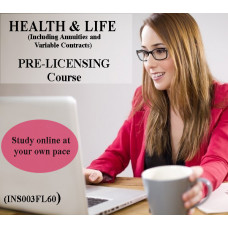 Florida - 2-15 HEALTH & LIFE (INCLUDING ANNUITIES AND VARIABLE CONTRACTS) PRE-LICENSING COURSE (INS003FL60)