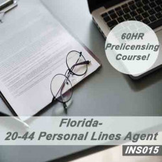 Florida: 60 hr 20-44 Personal Lines Agent Pre-Licensing Course